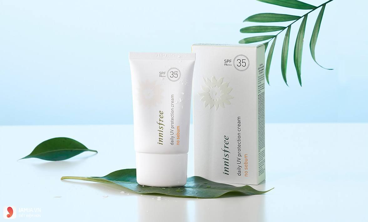 Innisfree daily UV Protection Cream No Sebum SPF35 PA+++