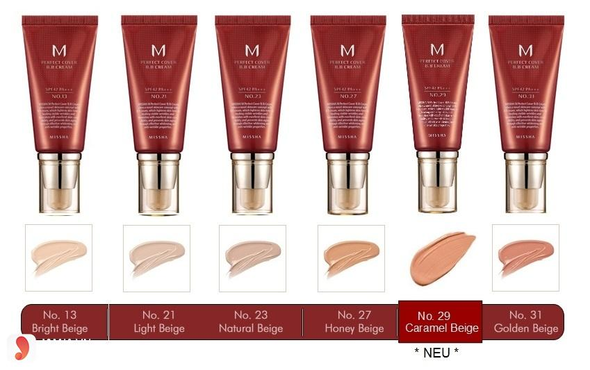 M Perfect Cover BB Cream