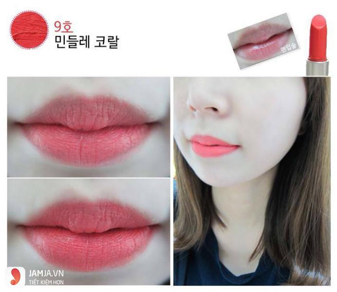 Son Innisfree Creamy Tint Lipstick #22