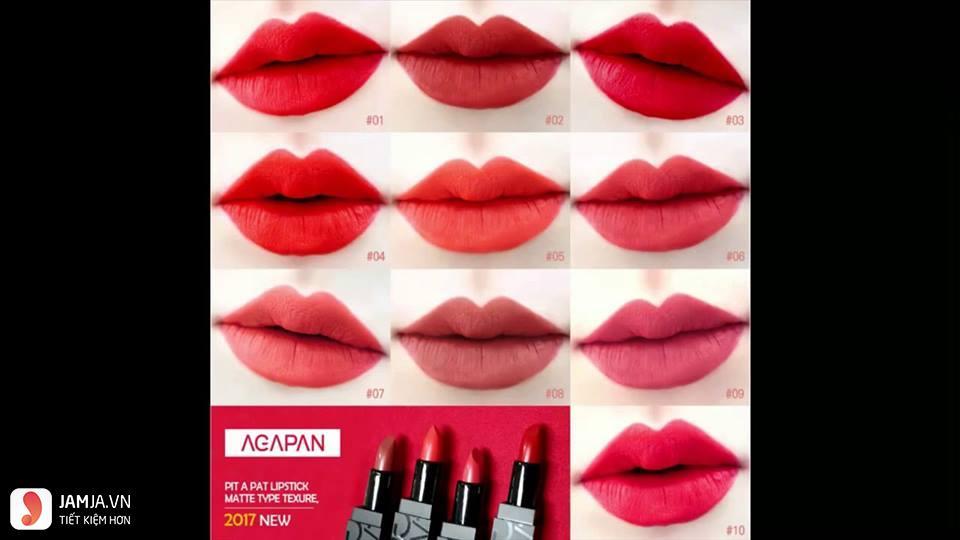 Agapan Pit A Pat Matte Lipstick Protect 09