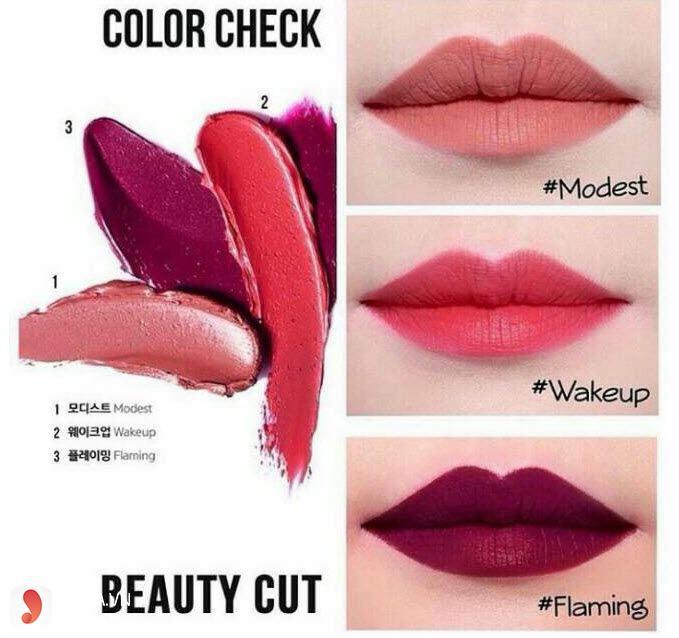 Son Espoir màu đỏ cam -Espoir Lipstick No Wear Wakeup