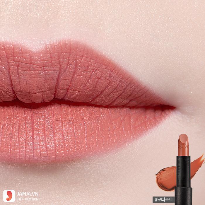 Son Espoir màu cam đất -Espoir Lipstick No Wear Modest