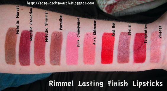 Rimel Kate Moss Lasting Finish Lipstick màu 13