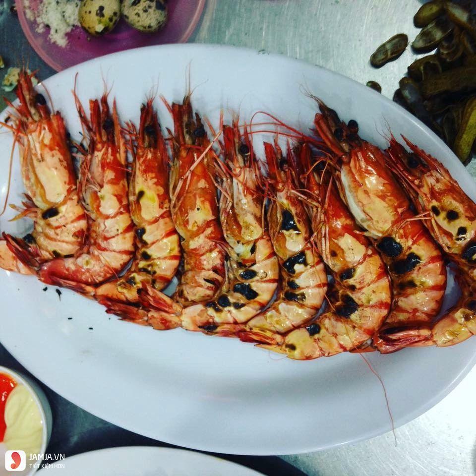 Đồ ăn ở Quán hải sản Bé Anh