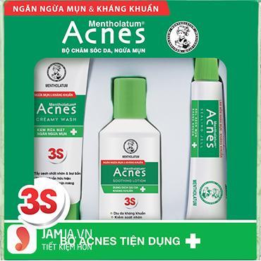 bộ sản phẩm Acnes gồm những gì 1