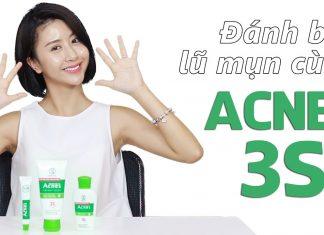 bộ sản phẩm Acnes gồm những gì 11