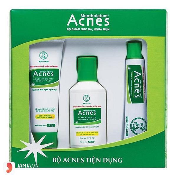 bộ sản phẩm Acnes gồm những gì 2