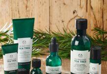 bộ sản phẩm tea tree của the body shop 12