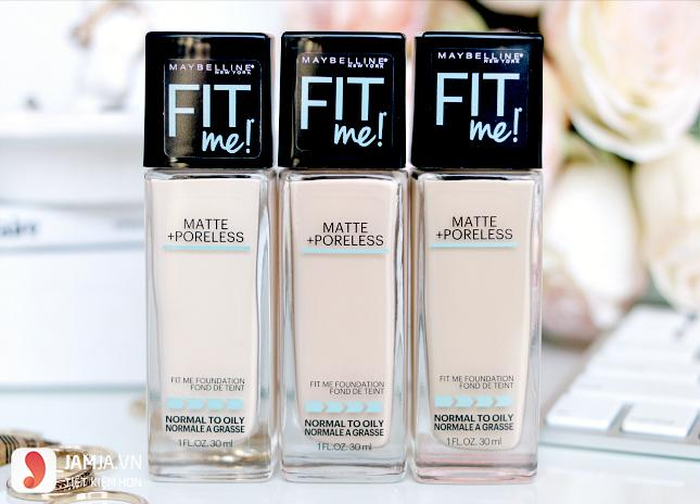 Kem nền Maybelline Fit Me Matte and Poreless Foundation