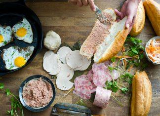 cách làm bánh mì pate thập cẩm