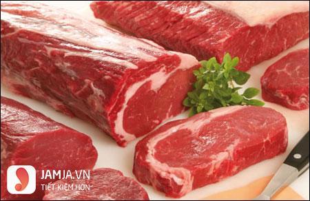 Phân biệt thịt bò non làm bò né bông thiên lý