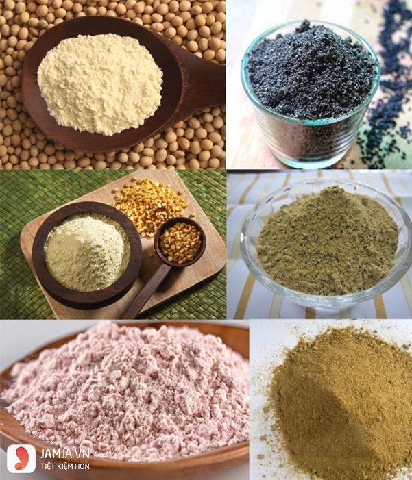 cách làm bột ngũ cốc tăng vòng 1-5