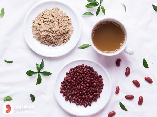 Cách làm bột cám gạo đậu đỏ