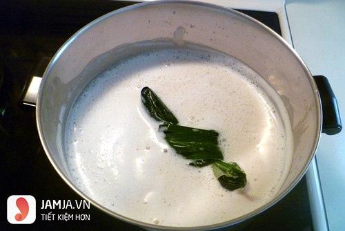 Cách làm tào phớ bằng bột rau câu thơm ngon-4
