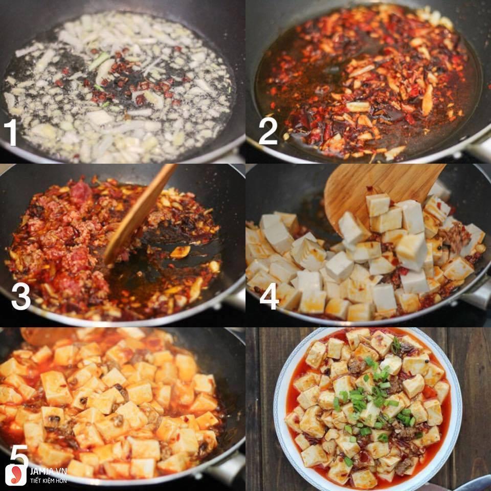 Một số món ăn làm từ tàu hủ miếng-1