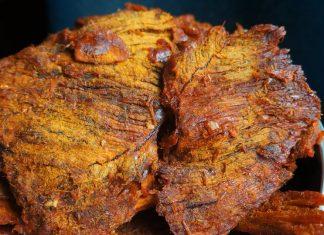 cách làm thịt lợn giả bò khô miếng