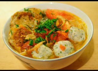 cách nấu bánh canh cá lóc miền Trung