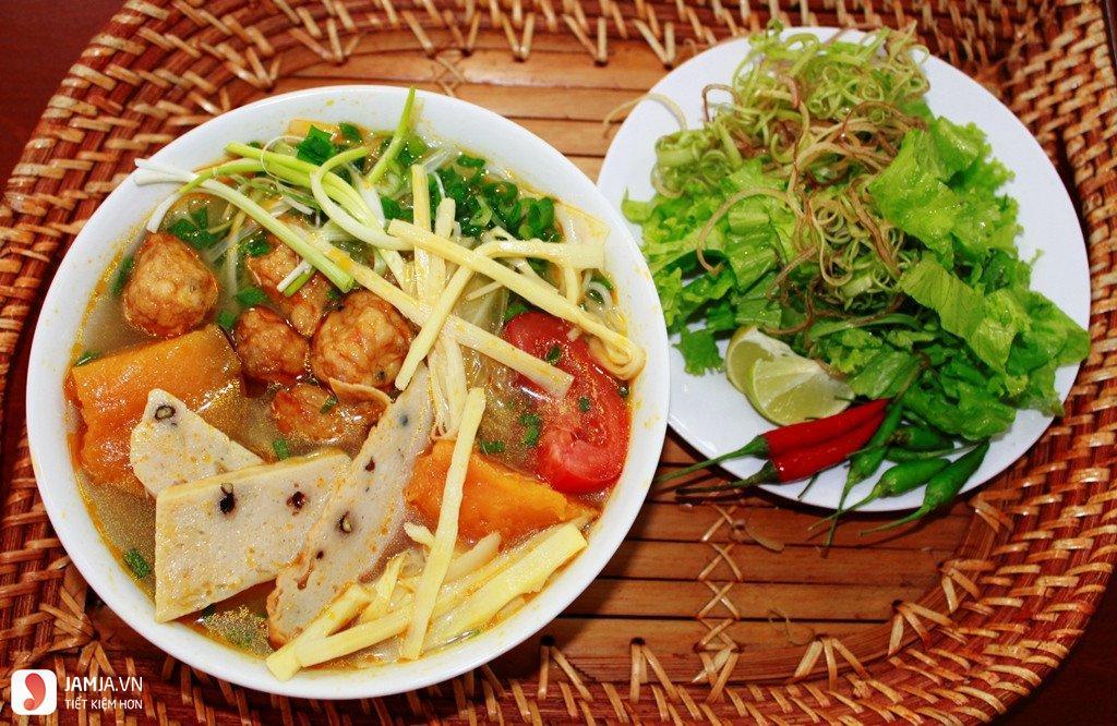 cách nấu bún chả cá Đà Nẵng-1