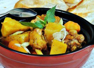 cách nấu cari nước cốt dừa