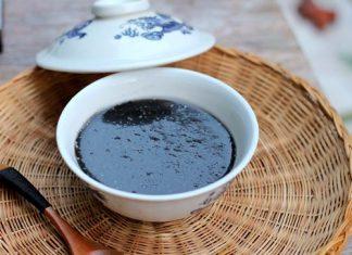 Cách nấu chè mè đen của người hoa