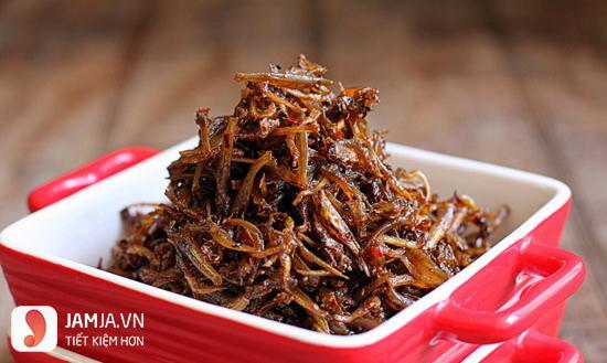 Cách nấu cá cơm khô rim ớt-3