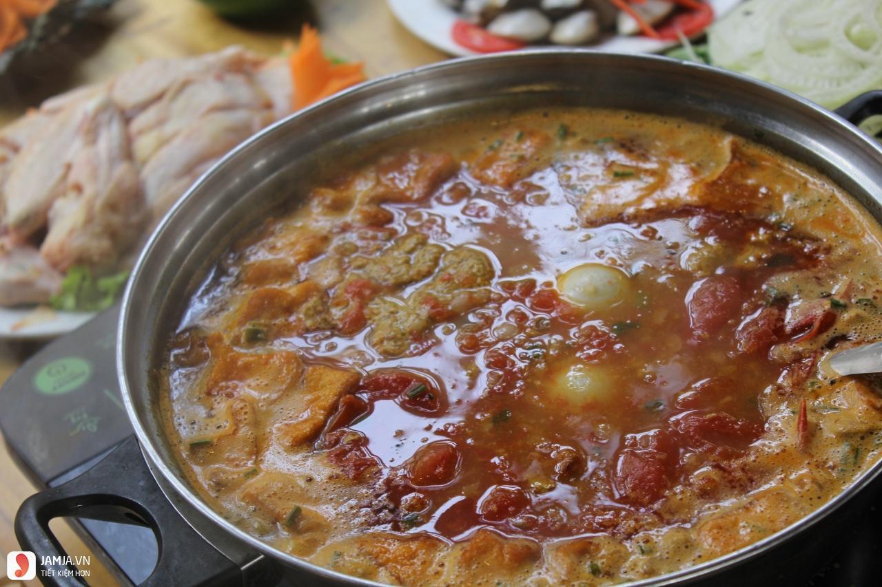 Cách nấu lẩu cua đồng Hải Phòng-2