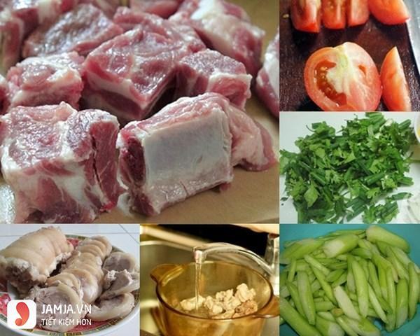 cách nấu thịt lợn bung-2