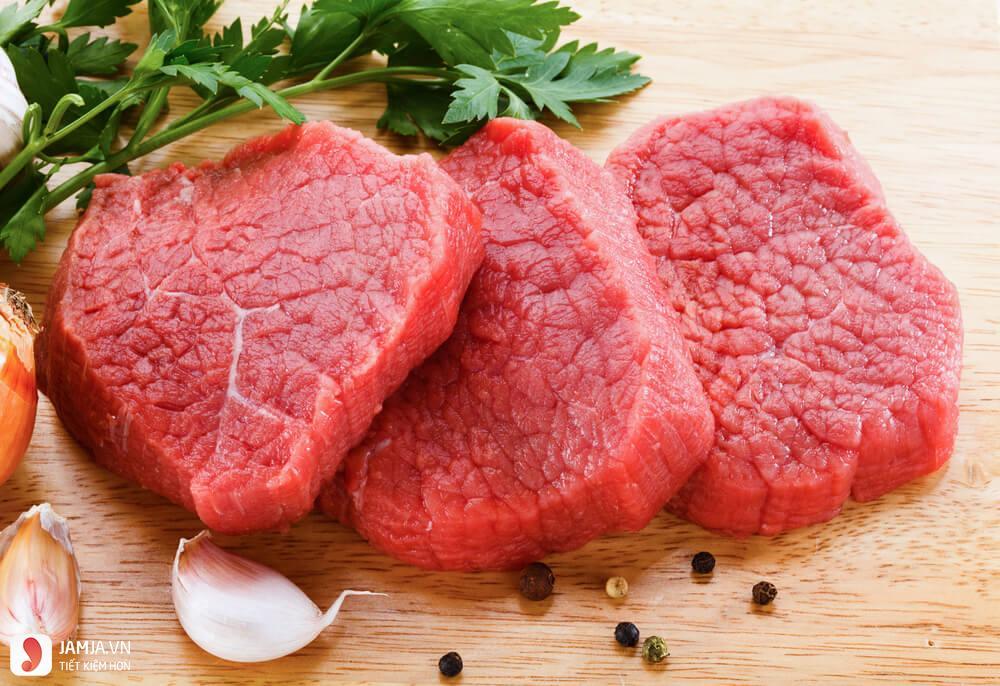 Giá trị dinh dưỡng của thịt trâu-1