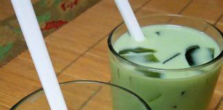 cách nấu trà sữa thái vị trà xanh