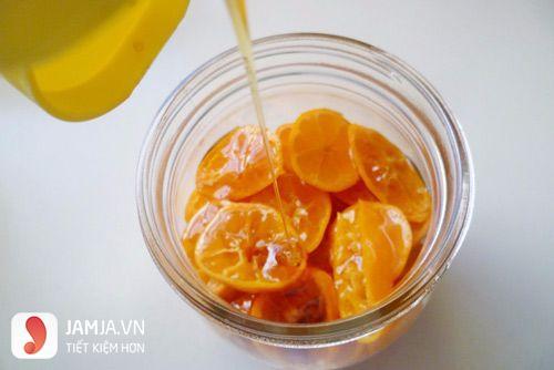 Cách ngâm quất với mật ong-6
