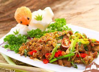 dê xào lăn nước cốt dừa