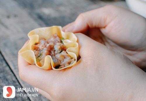 Cách làm xíu mại tôm thịt hấp-3