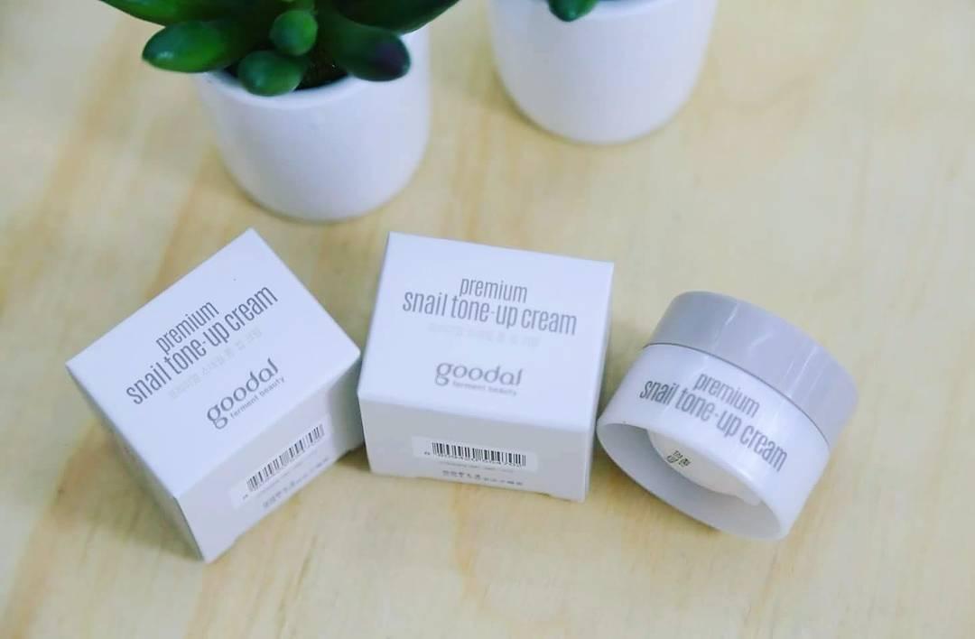 Goodal Premium Snail Tone Up Cream mini