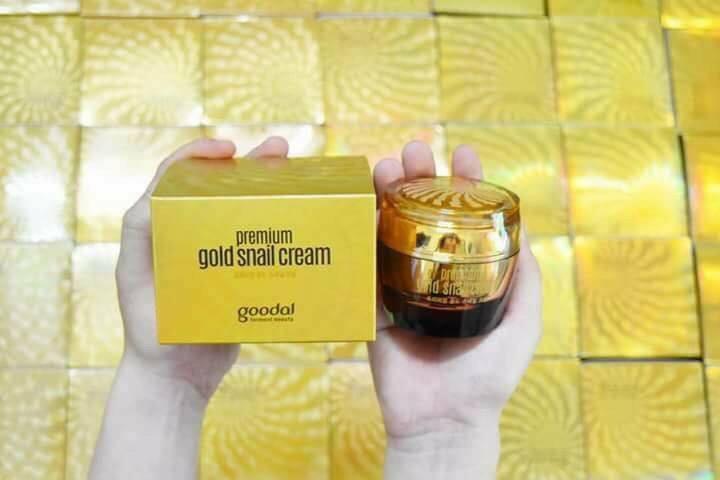 Kem ốc sên Goodal vàng