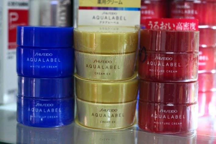 Review kem dưỡng da Shiseido Aqualabel -1