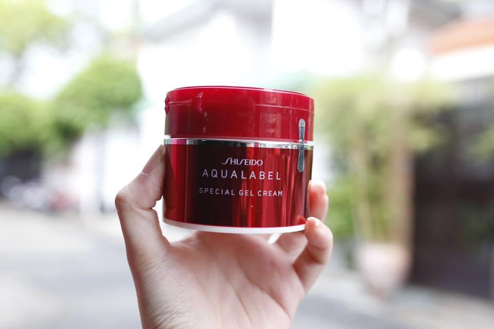 Review Shiseido Aqualabel 5 in 1-2