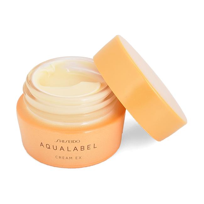 Kem dưỡng da Shiseido Aqualabel Cream Ex vỏ màu vàng-1