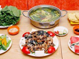 Lẩu ếch Hà Nội