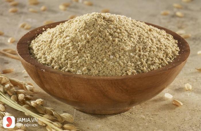 cách làm bột cám gạo đắp mặt