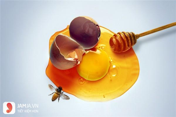 mặt nạ lòng đỏ trứng gà trị mụn với mật ong-1