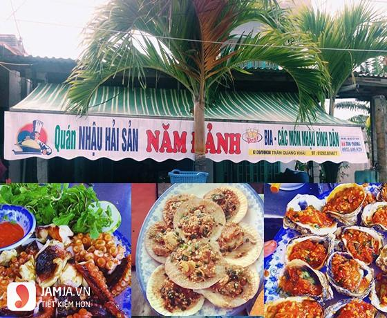 Quán nhậu ngon ở Đà Nẵng - hải sản năm đảnh