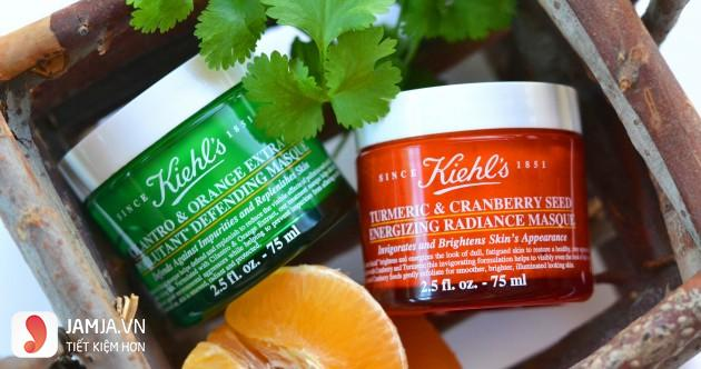 Review mặt nạ nghệ Kiehl's-2