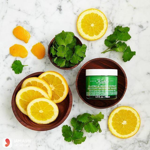 Review mặt nạ nghệ Kiehl's 4
