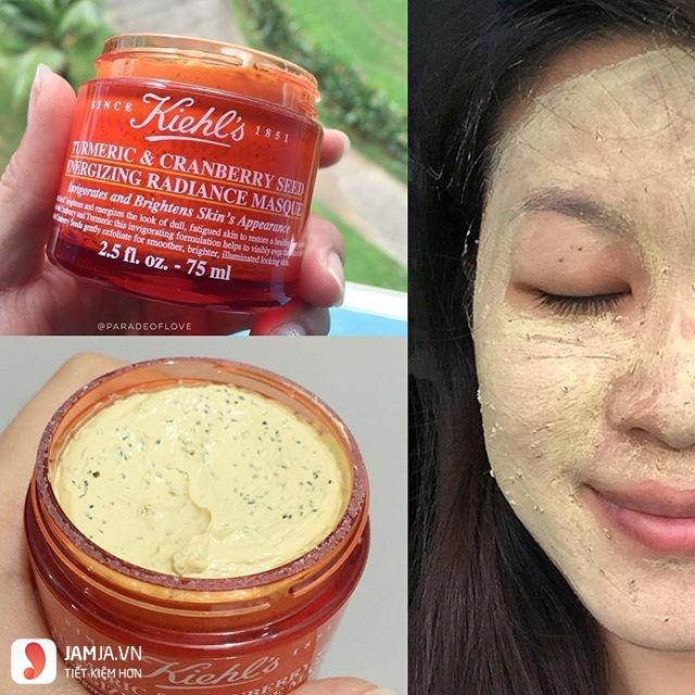 Review mặt nạ nghệ Kiehl's-4