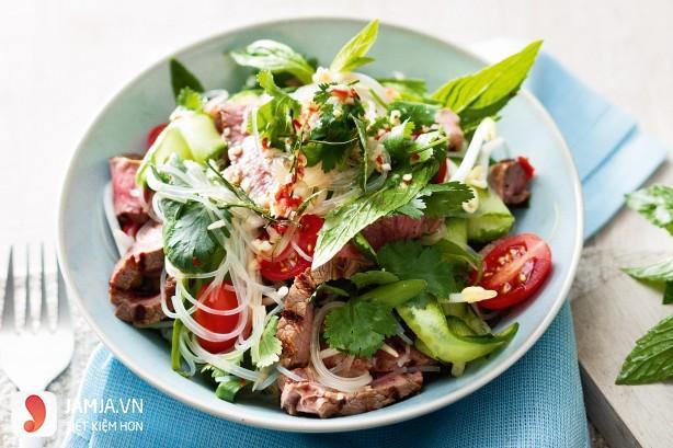 Cách làm salad thịt bò kiểu Thái-2
