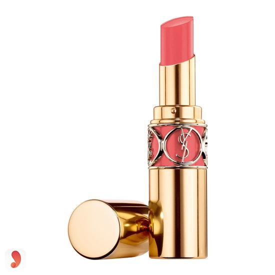 son môi màu hồng cánh đào- Son YSL Volupte Shine 31 Rose Innocent