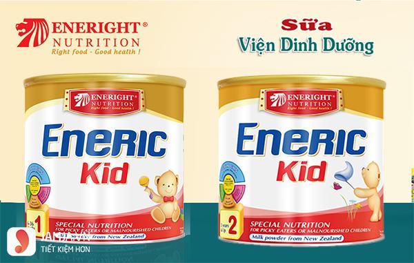 sữa nào giúp bé tăng cân nhanh nhất - enerric kid