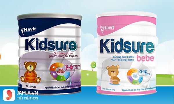 sữa nào giúp bé tăng cân nhanh nhất - kidsure