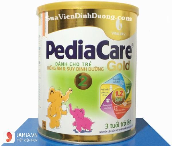 sữa nào giúp bé tăng cân nhanh nhất - pedia care