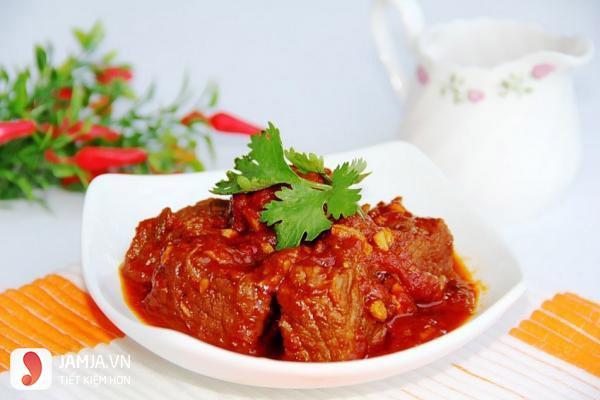 Thịt bò sốt cà chua-2